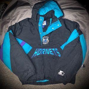 Vintage Charlotte Hornets Starter Jacket